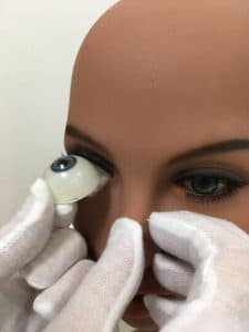 how to change eyes on a tpe doll