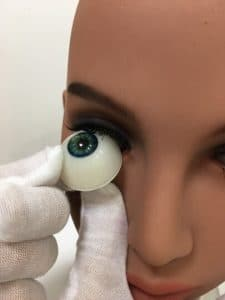 change tpe doll eyes
