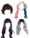 Sex dolls accessories wigs